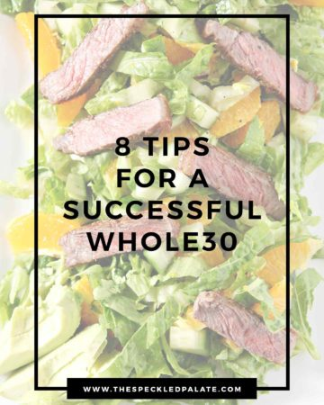 Info Graphic for Whole 30