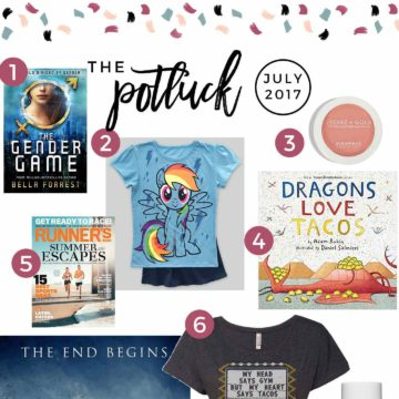 Continuing the monthly tradition, The Speckled Palate's The Potluck: July 2017 includes two different books (one for a mama and one for a toddler!), clothing, the return of a favorite television show, makeup and more! Swing by the blog today to get a full list of the things I adored during the month of July.
