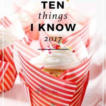 10 Things I Know | Birthday Tradition | Birthday List | Wisdom | Learning