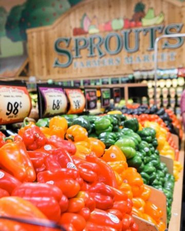 Fresh produce at Sprouts Farmers Market in Scottsdale, Ariz.