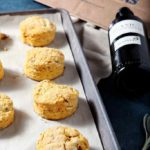 Vegan Sweet Potato Sage Olive Oil Biscuits