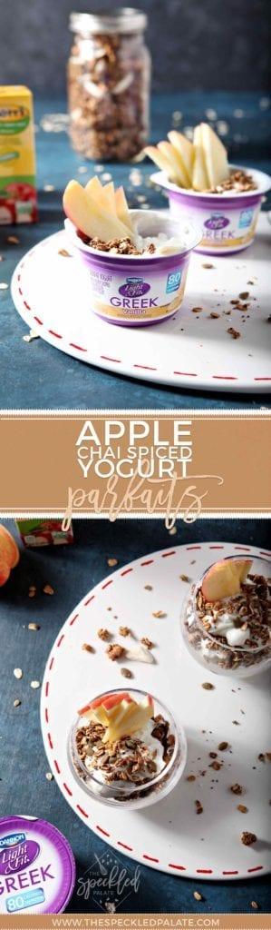 AD | Fall Breakfast | Easy Breakfast | Breakfast Parfaits | Homemade Granola | Easy Granola | Fall Granola | Chai Spiced Breakfast | Chai Spiced Granola