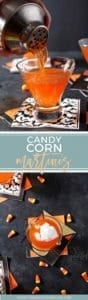 Halloween Cocktail | Candy Corn Cocktail | Infused Vodka | Candy Corn Recipe | Candy Corn Drink | Halloween Drink | Halloween Inspiration | Halloween