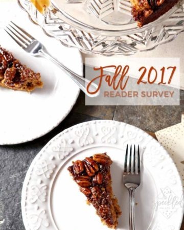 The Speckled Palate Reader Survey 2017