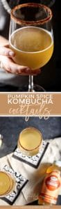 AD | Kombucha Cocktail | Pumpkin Cocktail | Fall Cocktail | Kombucha Drink | Bubbly Drink | Pumpkin Spice Alcoholic Beverage | Pumpkin Spice Cocktail | Pumpkin Spice | Easy Entertaining | Girls Night In | Cocktail Party | Drink Inspiration | Kombucha Drink