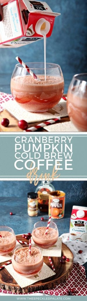 #ad | Coffee Drink | Cold Brew Coffee Drink | Breakfast Drink | Afternoon Drink | Coffee Cooler | Refreshing Drink | Winter Drink | Refreshing Coffee Drink | Cranberry Drink