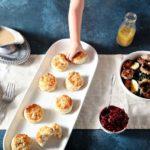 Thanksgiving Turkey Biscuits and Gravy
