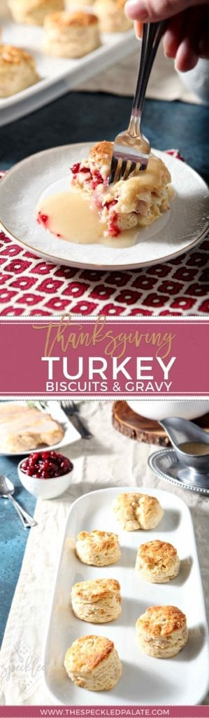 AD | Thanksgiving Entree | Thanksgiving Brunch | Biscuits and Gravy Recipe | Easy Turkey Recipe | Easy Thanksgiving | Easy Entertaining | Unique Thanksgiving Entrée | Brunch Recipe | Savory Brunch Recipe | Brunch Turkey Recipe