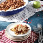 Vegan Breakfast Apple Crisp