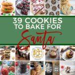 39 Cookies for Santa