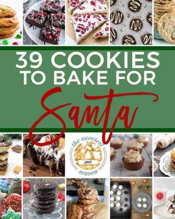 Holiday Cookies | Christmas Cookies | #sweetestseasoncookies | Santa Cookies | Easy Cookies | December Baking | Cookies for Kids | Cookies for Adults | Easy Holiday Baking