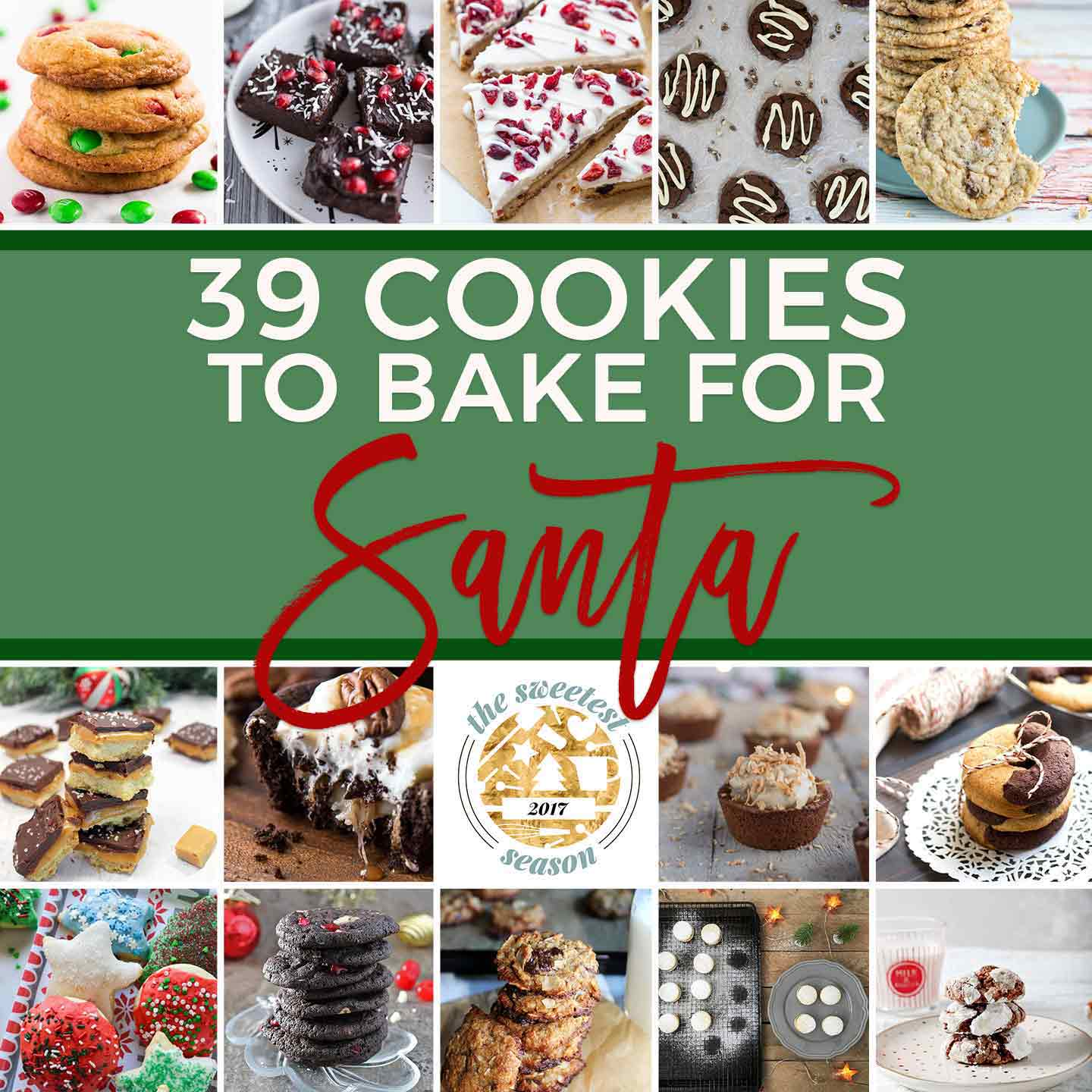 Holiday Cookies | Christmas Cookies | #sweetestseasoncookies | Santa Cookies | Easy Cookies | December Baking | Cookies for Kids | Cookies for Adults | Easy Holiday Baking