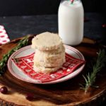 Ginger Rosemary Shortbread Cookies