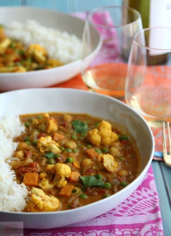 Easy Indian Vegan Chickpea Curry from Pook's Pantry