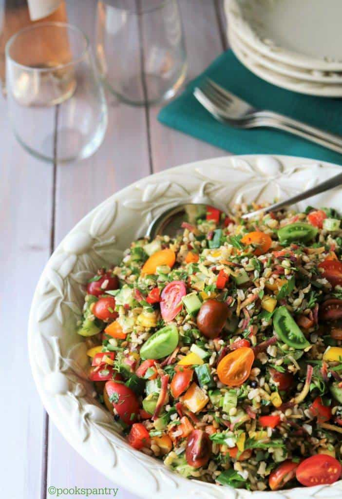 Summer Grain Salad from Pook's Pantry