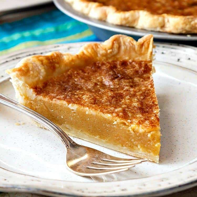 Old-Fashioned Vinegar Pie from Pastry Chef Online