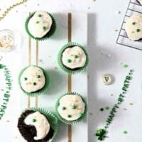 Chocolate Guinness Cupcakes with Creamy Bailey's Icing