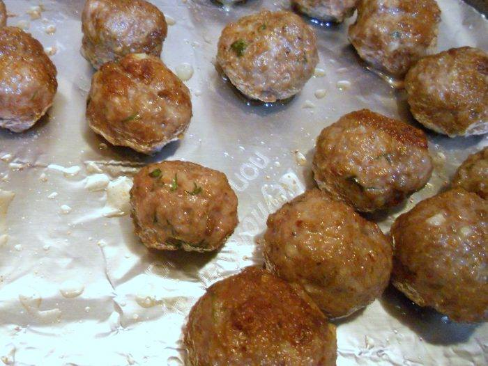 Lamb Meatballs from Pastry Chef Online