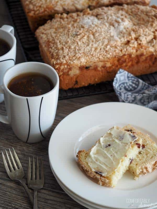 Placek -Polish Coffee Cake from Comfortably Domestic
