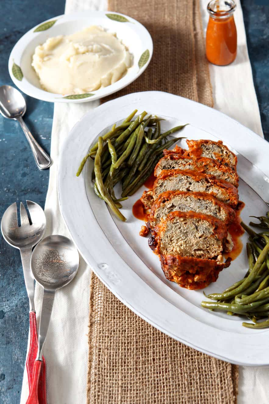 Slow Cooker Turkey Meatloaf from The Speckled Palate