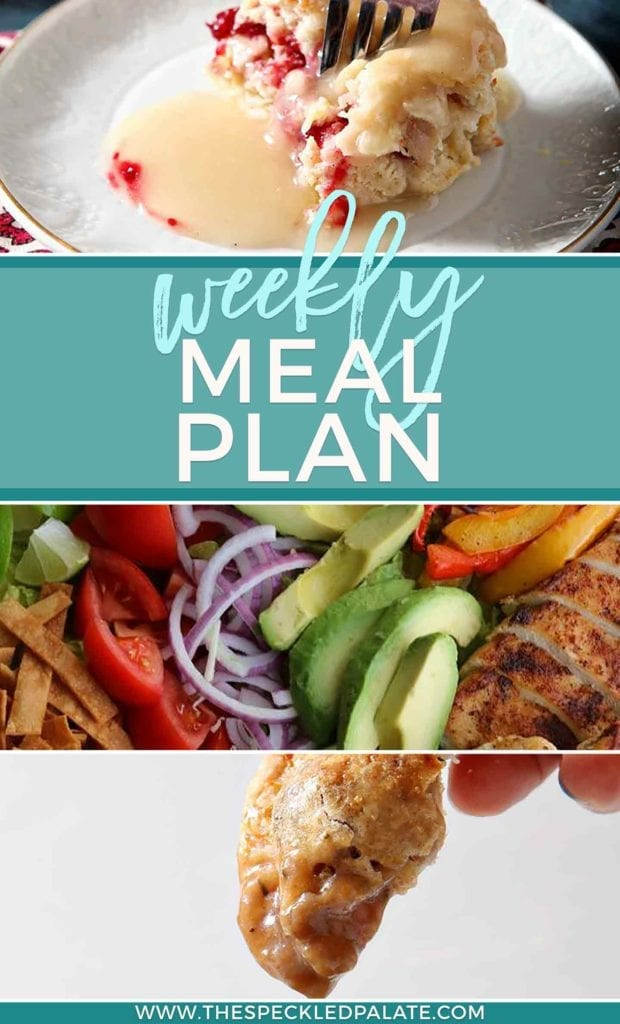 Dinner Divas Weekly Meal Plan 48 at The Speckled Palate