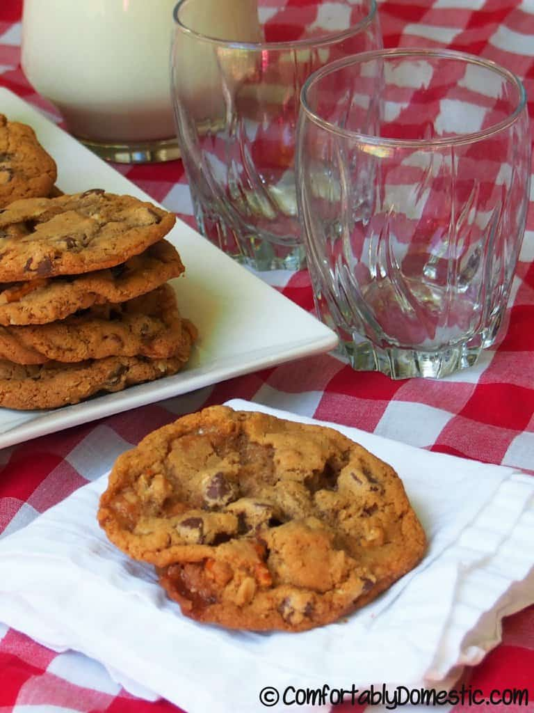 Everything [But the Kitchen Sink] Cookies from Comfortably Domestic