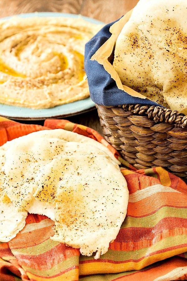 Whole Wheat Pita Bread from Pastry Chef Online