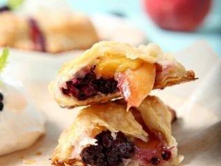 Blackberry Peach Hand Pies