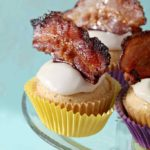 Bourbon Maple Bacon Cupcakes