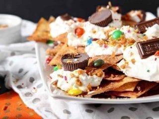 Halloween Dessert Nachos