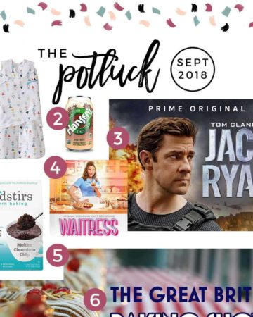 Square graphic for The Potluck: September 2018