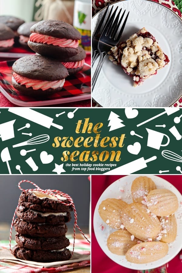 Collage of the 2015 Sweetest Season Cookies