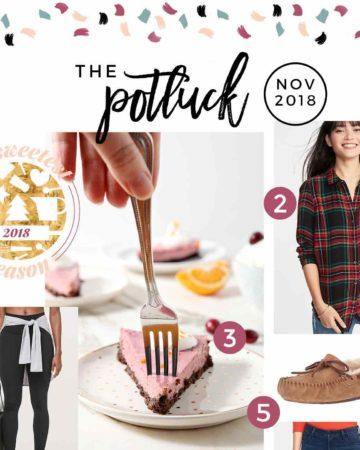 Square collage for The Potluck: November 2018