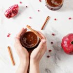 Pomegranate Hot Buttered Rum