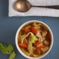 Thursday's Dinner: Chicken Noodle Soup