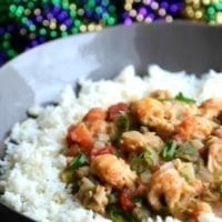 Wednesday's Dinner: Langostino Étouffée
