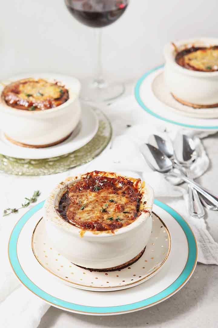 Instant Pot French Onion Soup | The Speckled Palate