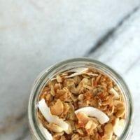Breakfast #1: Healthy Granola Recipe with Coconut