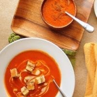 Thursday's Dinner: Cajun Spicy Tomato Soup