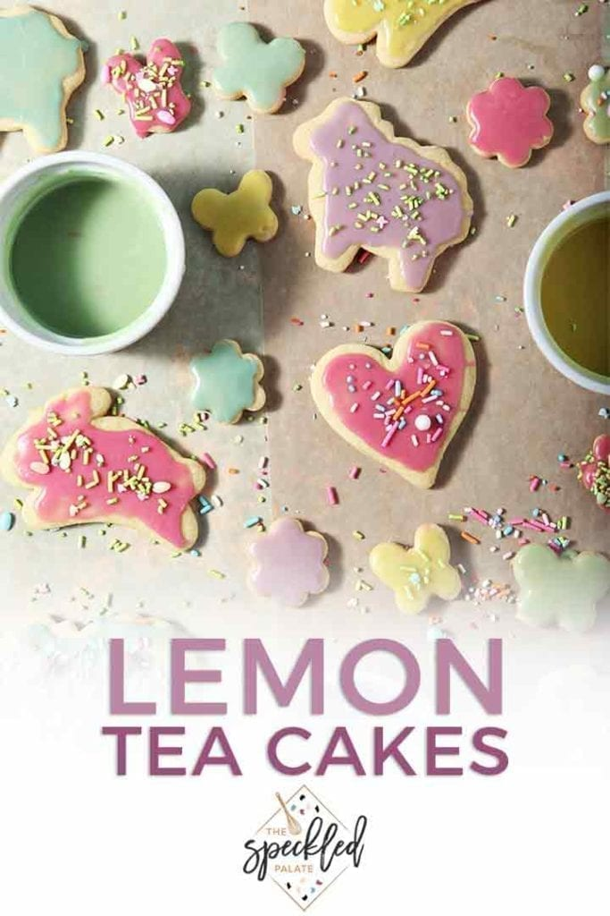 Soft Lemon Tea Cakes are light, perfectly balanced and aren't too sweet or too tart. No matter the occasion, these Lemon Sugar Cookies are perfect cut out cookies for sharing. | Spring Sugar Cookies | Lemon Cookies | Southern Tea Cakes | #cookies #lemon #dessert #SpringSweetsWeek #ad