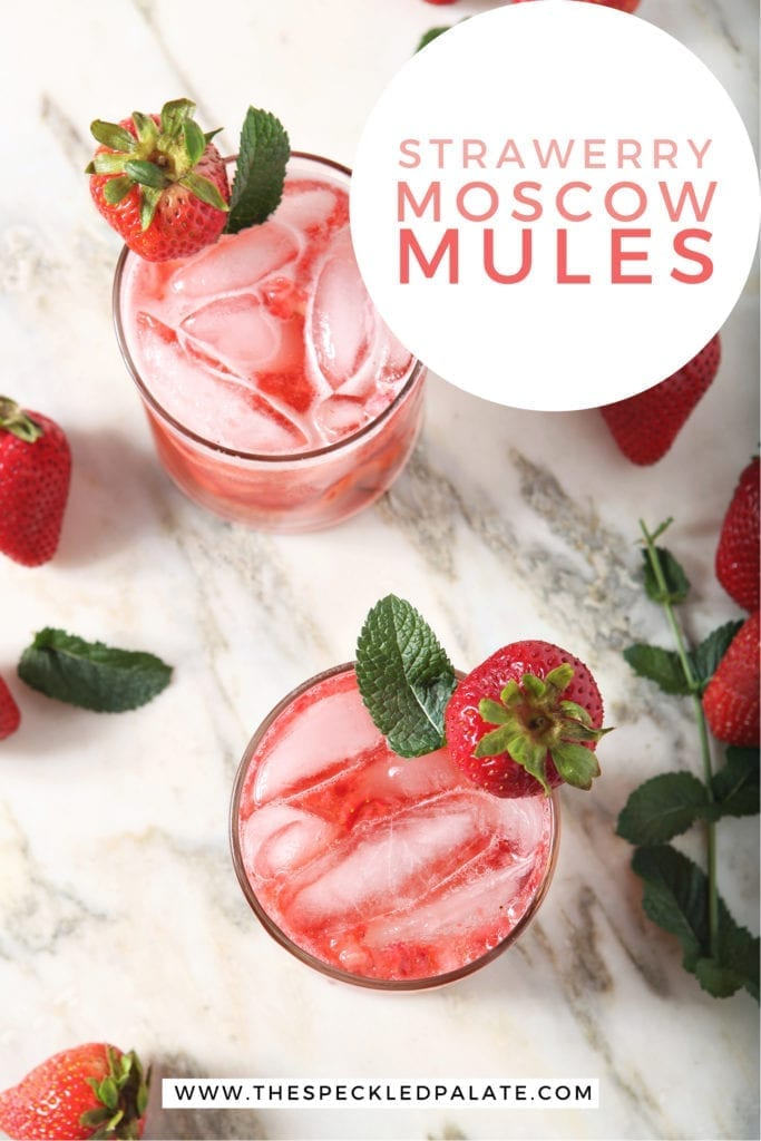 Two mules from above, with Pinterest text
