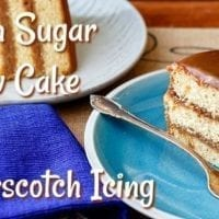 Dessert Recipe: Butterscotch Cake with Butterscotch Icing