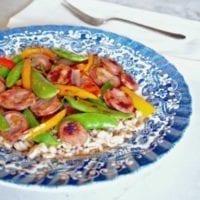 Thursday's Dinner: Sausage Stir Fry