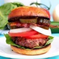 Wednesday's Dinner: Sweet Heat Burgers