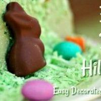 Easter Dessert Idea: Easter Bunny Hill Cake
