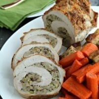 Friday's Dinner: Chestnut Stuffed Pork Loin Roast