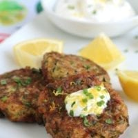 Wednesday's Dinner: Easy Zucchini Fritters