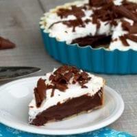 Dessert Idea #1:Chocolate Cream French Silk Pie