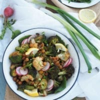 Friday's Dinner: Moroccan Roasted Veggie Power Bowls