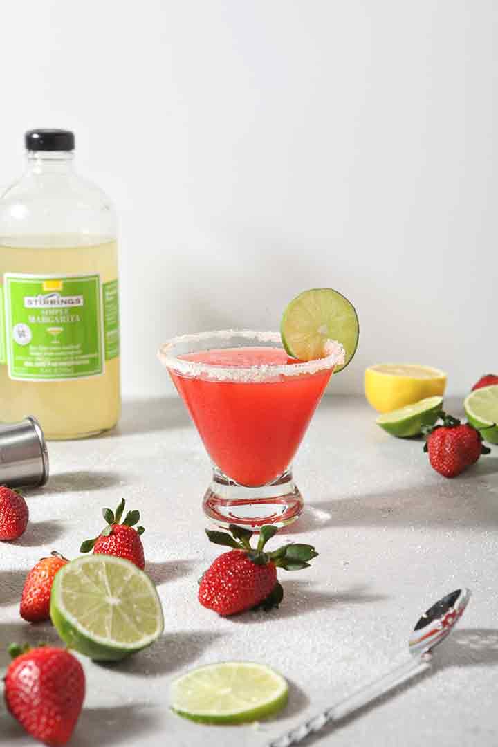 Easy Homemade Strawberry Margarita And How To Make A Mocktarita